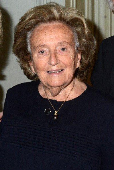 Bernadette Chirac à La Salle Gaveau le 6 février 2014 à Paris, France. | Photo : Getty Image