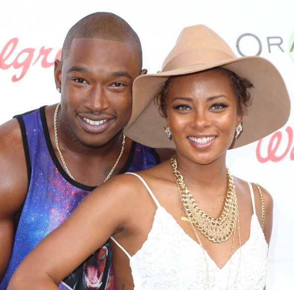 "Singer Kevin McCall and actress Eva Marcille at the Reed for Hope Foundation's 11th Annual ""Sunshine Beyond Summer"" celebration in Westlake Village, California.
