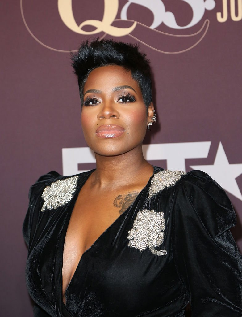 "Fantasia arrives at ""Q 85: A Musical Celebration for Quincy Jones"" presented by BET Networks at Microsoft Theater 