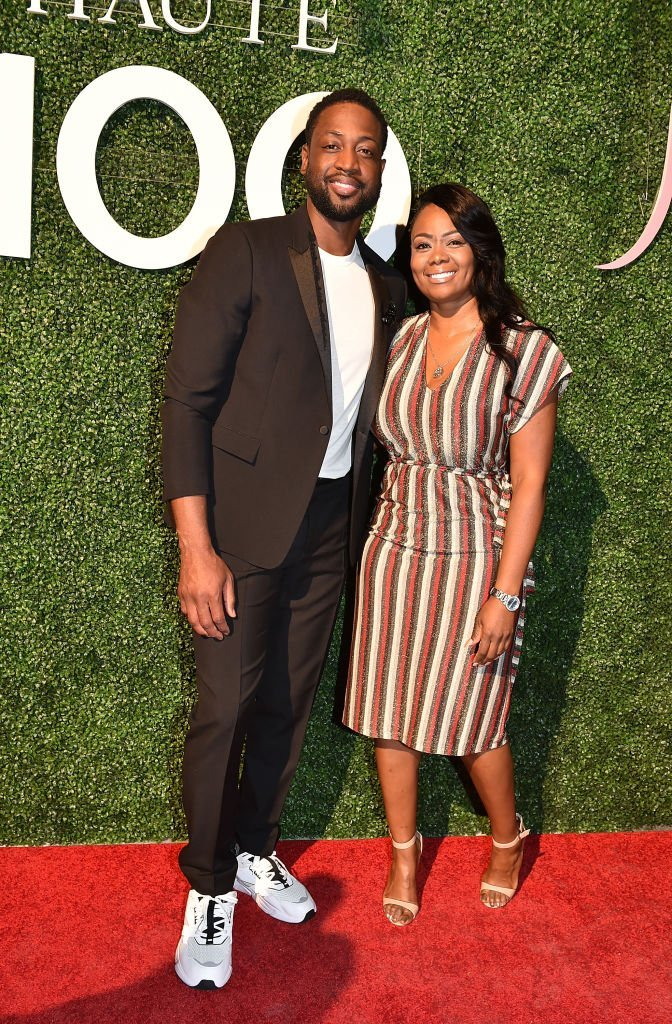 Dwyane Wade and Tragil Wade attend Haute Living's Haute 100 10th Anniversary Party at Swan Miami on October 25, 2018 | Photo: Getty Images