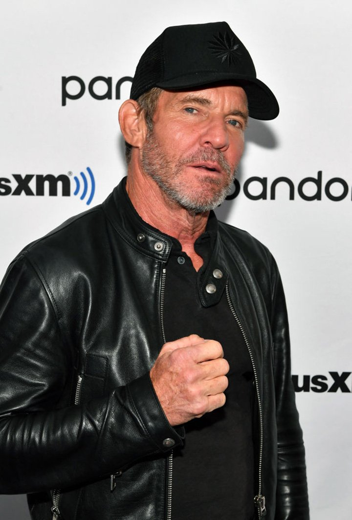 Actor Dennis Quaid visits SiriusXM Studios on December 02, 2019 in New York City. I Image: Getty Images.