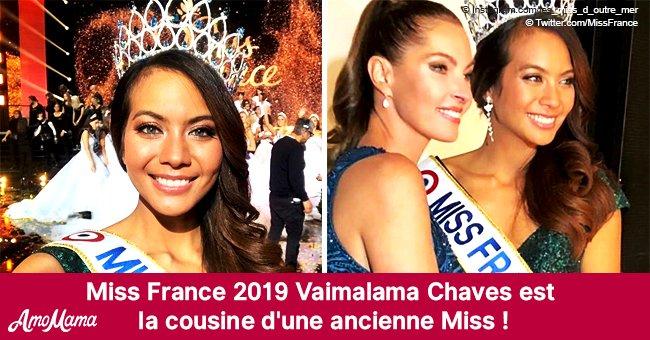 La nouvelle Miss France 2019 s'avère être la cousine d'une ancienne Miss