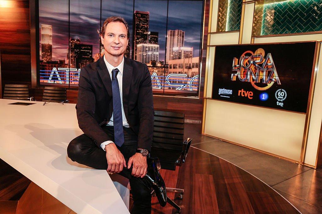 Javier Cárdenas fue el presentador del programa Hora Punta.  Fuente: Getty Images