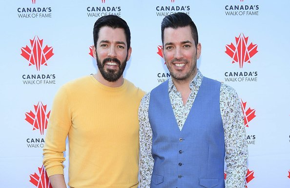 Drew Scott and Jonathan Scott at the Canada's Walk Of Fame Fundraising Event on July 18, 2019 | Photo: Getty Images