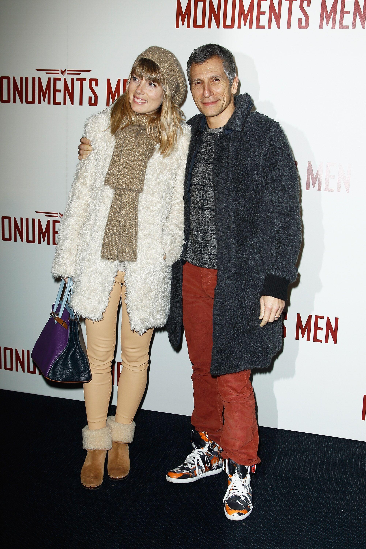 Nagui aux côtés de sa compagne Mélanie Page. l Source : Getty Images