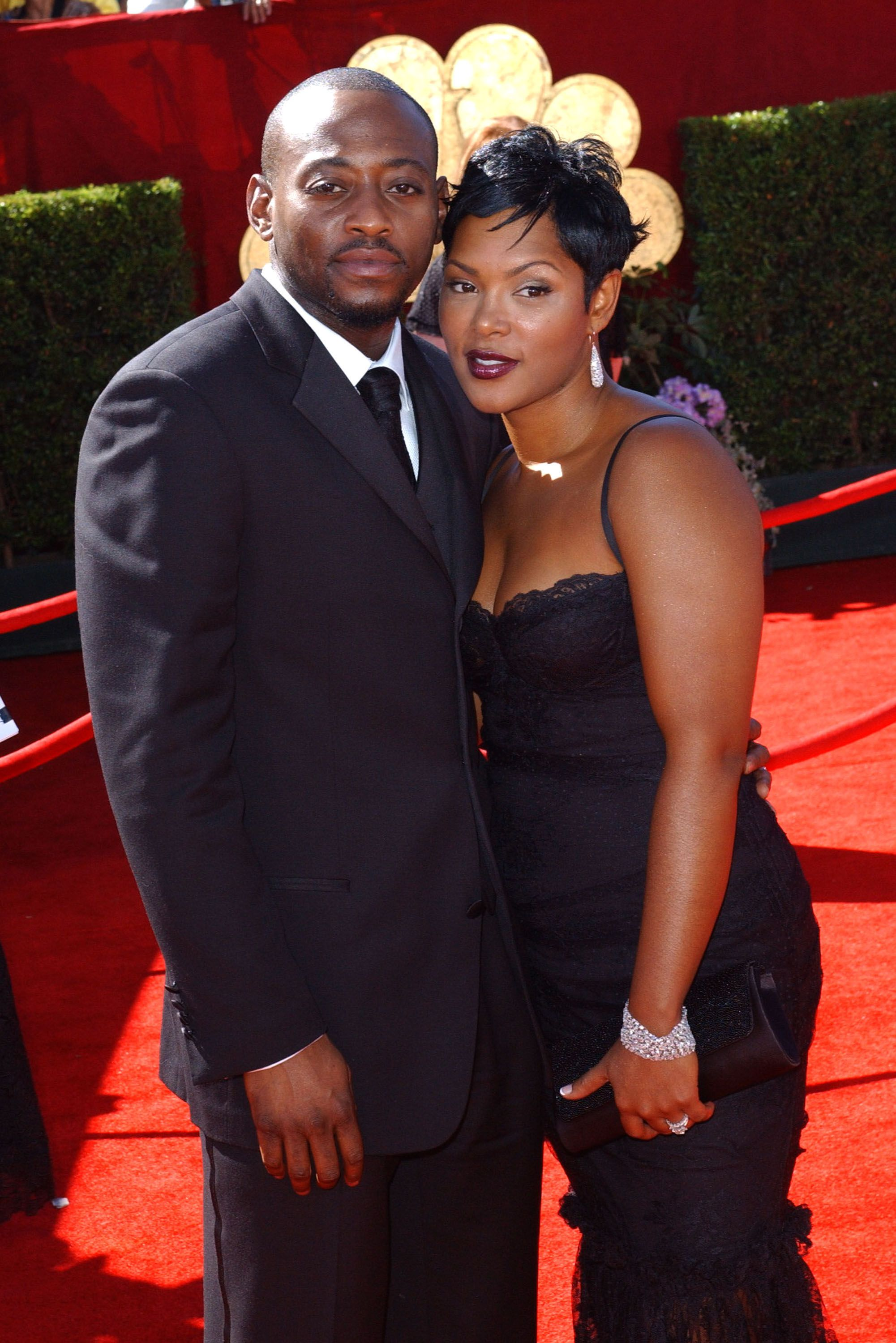 Omar Epps and wife Keisha Epps at the Shrine Auditorium in August 2006 | Photo: Getty Images