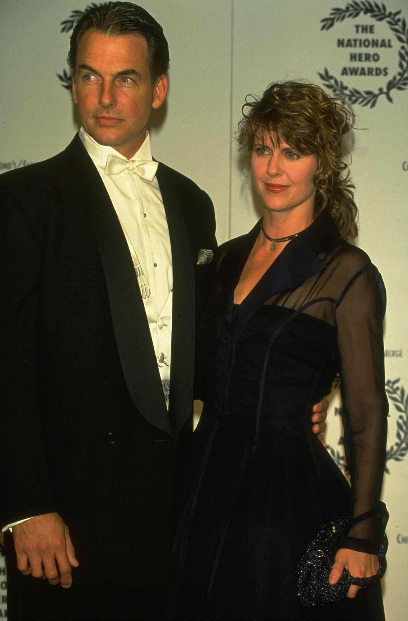 Mark Harmon and Pam Dawber at the National Hero Awards | Getty Images