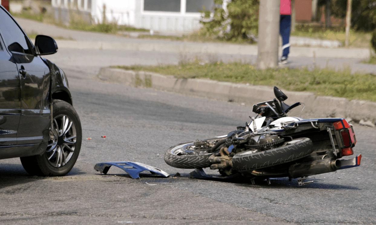 Un accident de moto / Photo : Shutterstock