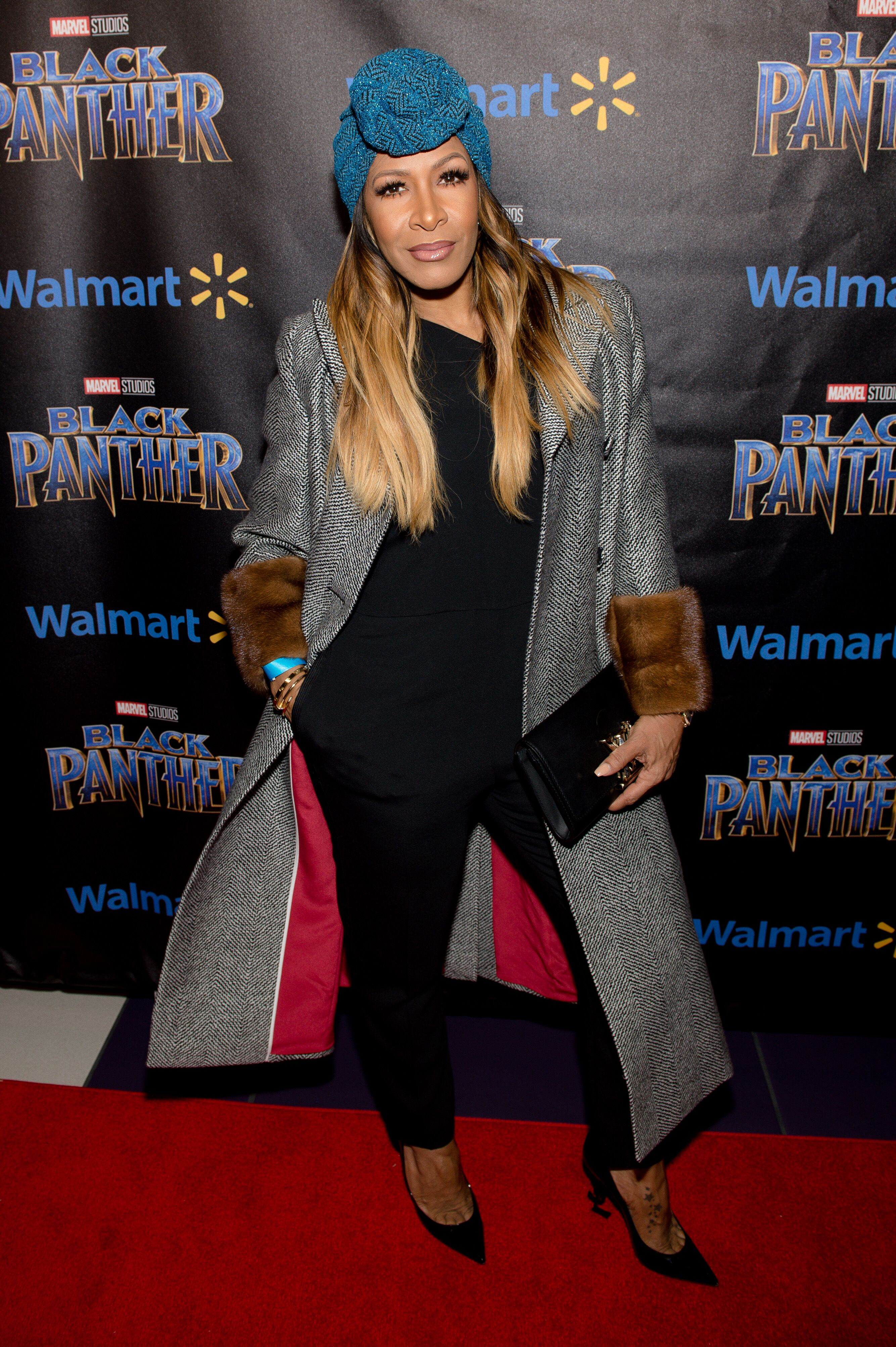 """Sheree Whitfield at the """"Black Panther"""" premiere in 2019/ Source: Getty Images"""