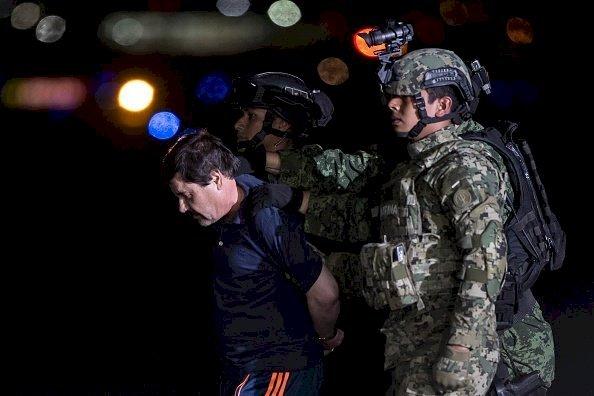El Chapo recapturado en México. |Imagen: Getty Images.