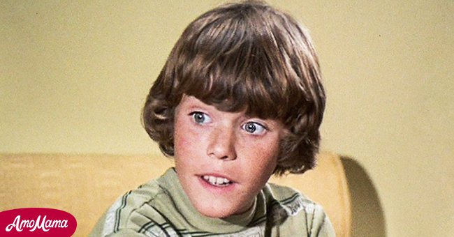 """Young Mike Lookinland on """"The Brady Bunch"""" 