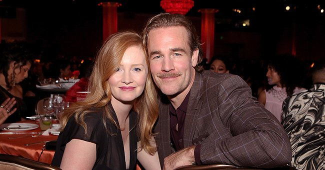 James Van Der Beek's Wife Starts off a Wonderful Morning with Her 4 Kids Looking Cozy on a Sofa