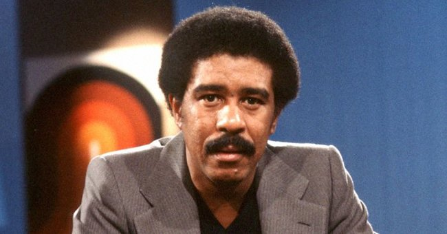 """Photo of Richard Pryor  at the taping of """"Midday Live"""" - November 1, 1977 