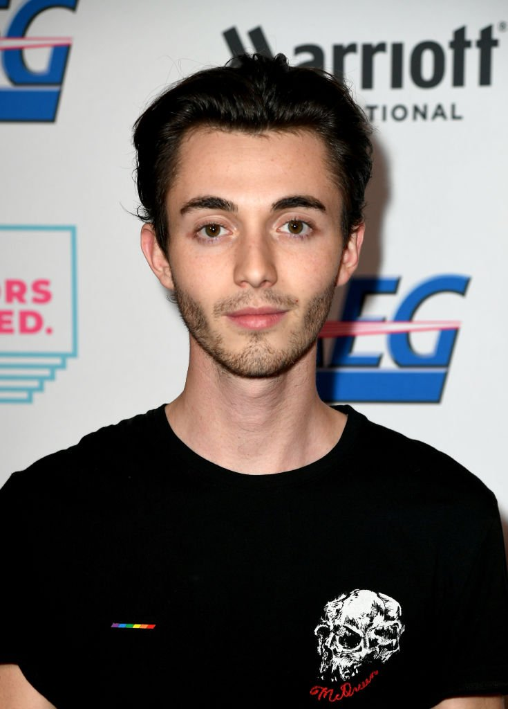 Greyson Chance arrives at the Cyndi Lauper And Friends: Home For The Holidays Benefit at The Novo by Microsoft | Getty Images