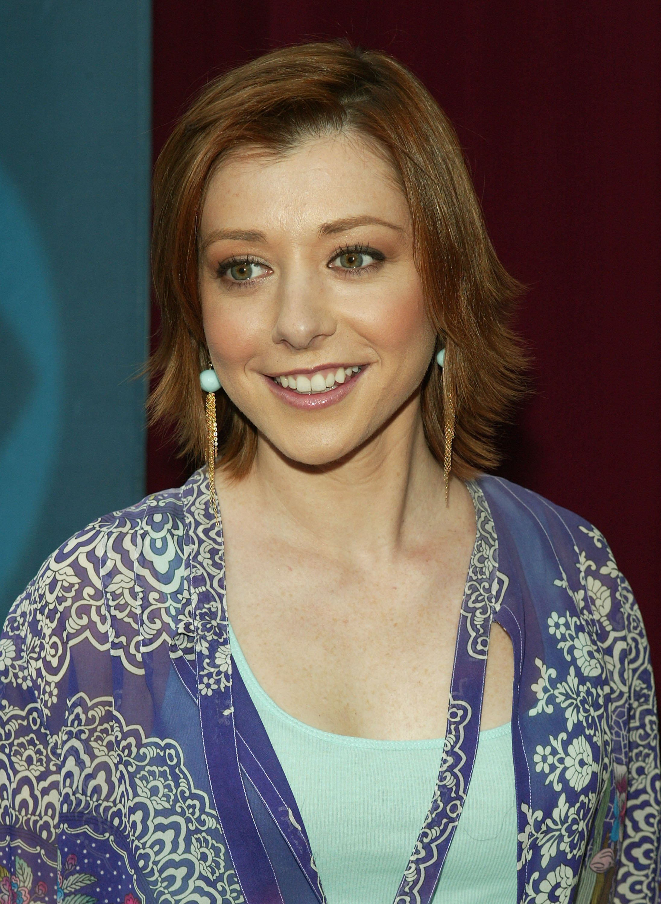 Alyson Hannigan attends the CBS upfront in May 2005 in New York City | Photo: Getty Images