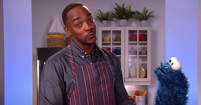 Anthony Mackie's Role on 'Sesame Street' Made Him a 'Legend' at His Kids' School