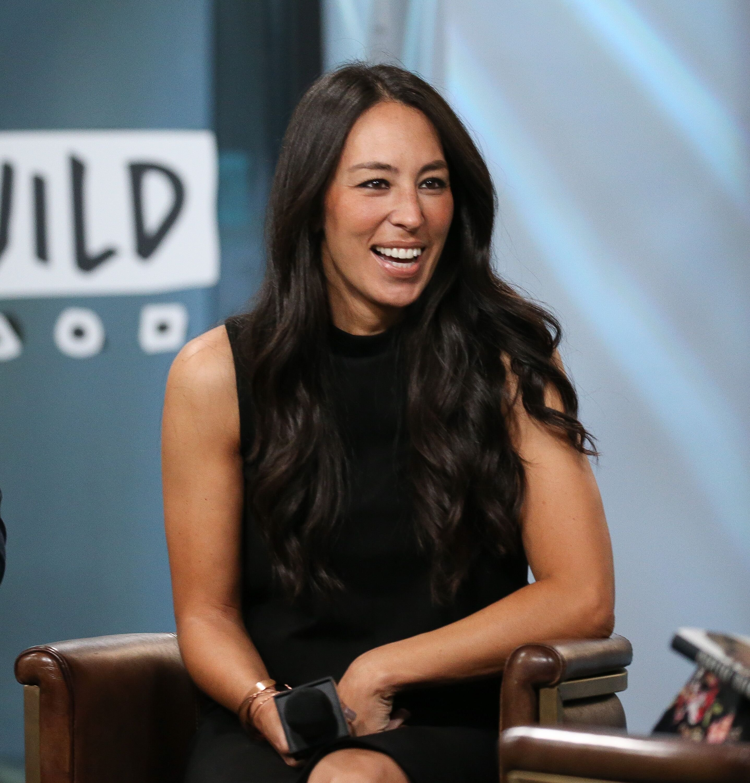 """Joanna Gaines discusses new book, """"Capital Gaines: Smart Things I Learned Doing Stupid Stuff"""" at Build Studio 