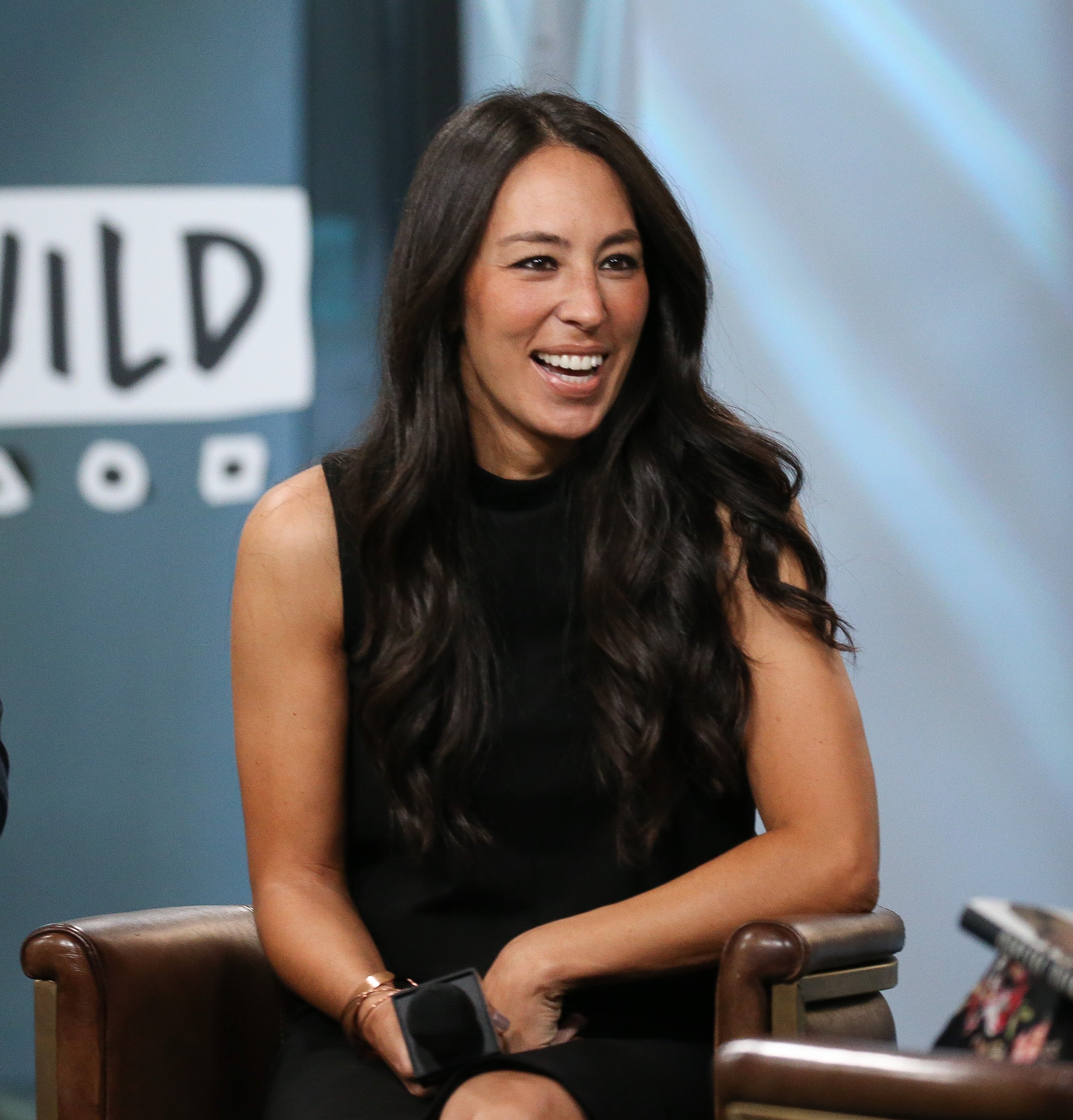 """Joanna Gaines discusses new book, """"Capital Gaines: Smart Things I Learned Doing Stupid Stuff"""" at Build Studio on October 18, 2017. 