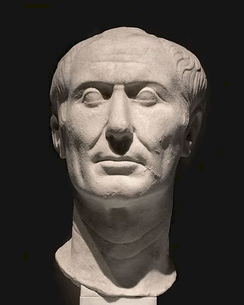 The only surviving sculpture of Julius Caesar made during his lifetime | Public Domain