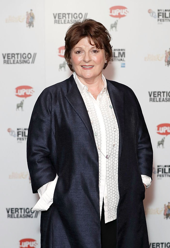 Brenda Blethyn le 15 octobre 2016 à Londres.  l Source : Getty Images