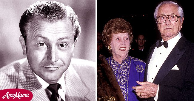 """Late actor Robert Young from """"Father Knows Best"""" and his wife 