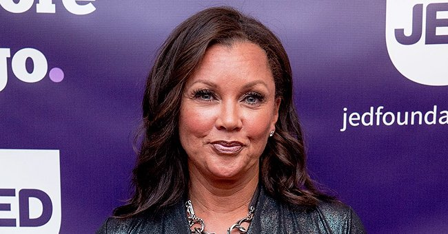Vanessa Williams Poses in Special T-Shirt with Photos Showing Her Different Moods