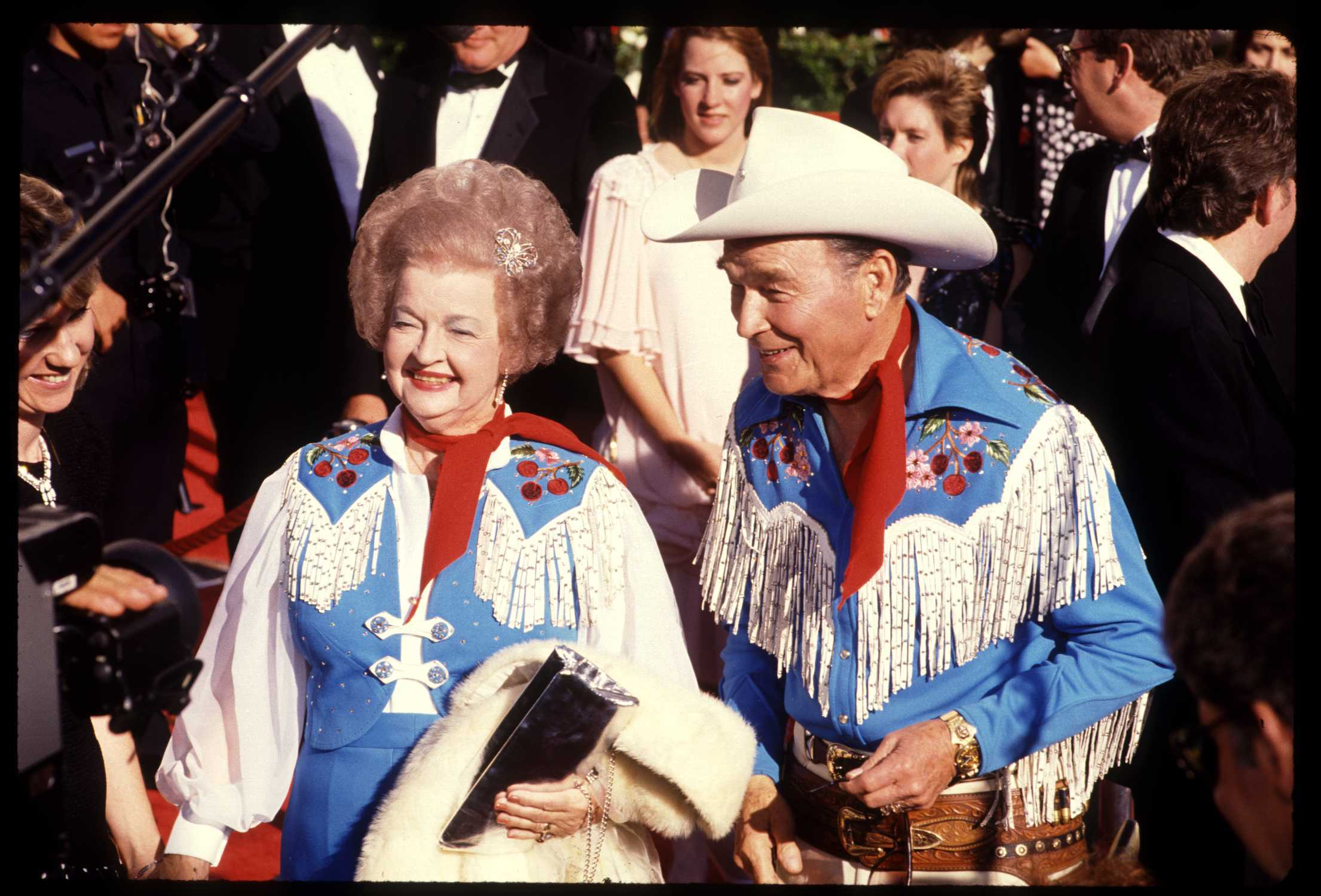 Roy Rogers And Dale Evans Arriving At The 1991 Oscar Show. | Source: Getty Images.