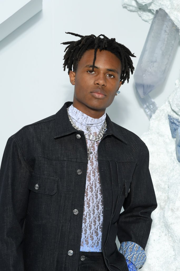 Kailand Morris attends the Dior Homme Menswear Spring Summer 2020 show as part of Paris Fashion Week  | Getty Images