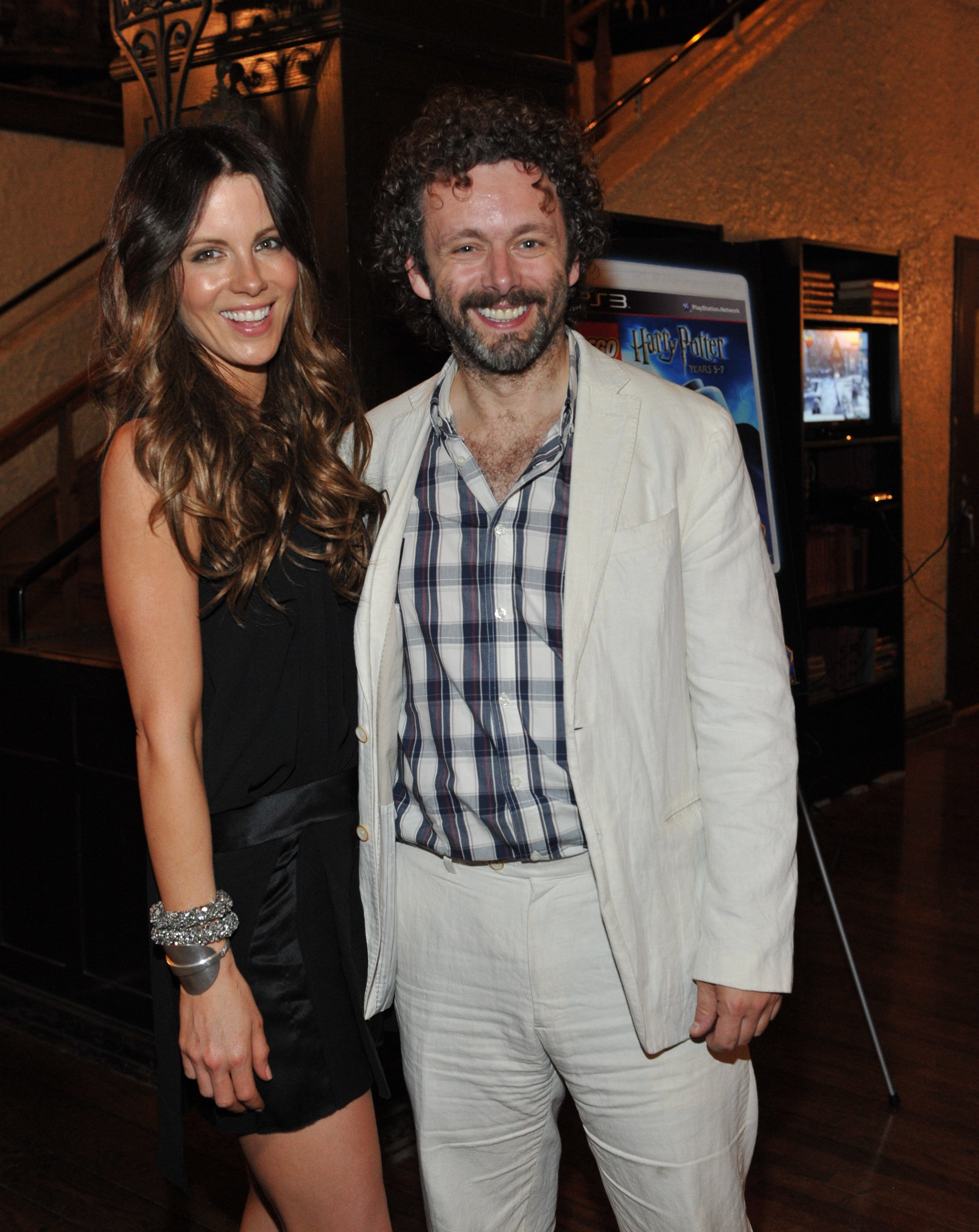 Kate Beckinsale and Michael Sheen on July 12, 2011 in Toronto, Canada | Photo: Getty Images
