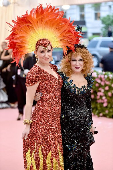 Sophie Von Haselberg and Bette Midler at Metropolitan Museum of Art on May 06, 2019 in New York City.   Photo: Getty Images