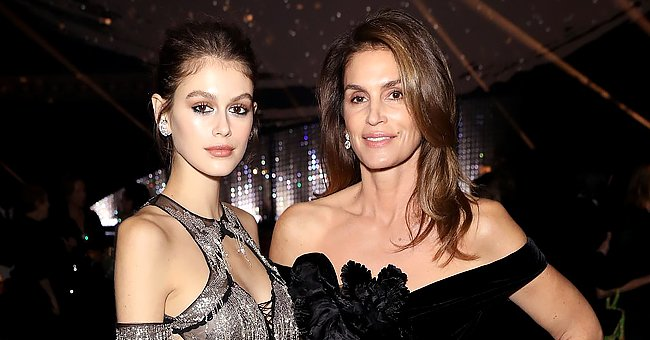 Cindy Crawford & Her Look-Alike Daughter Kaia Gerber Stun as They Enjoy a Game of Chess