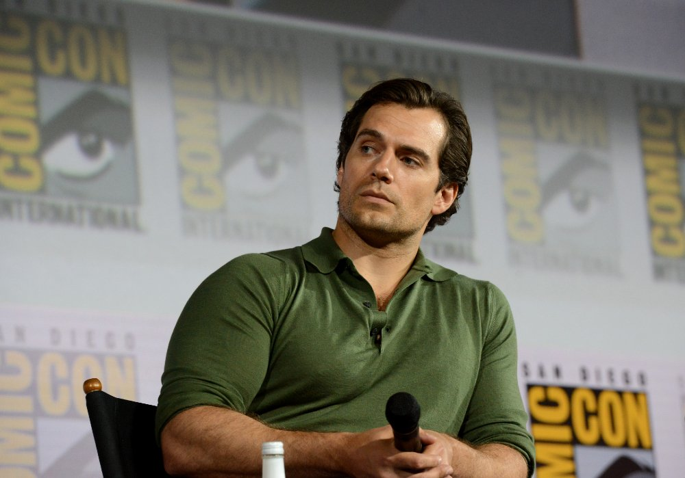 "Henry Cavill attending ""The Witcher"" Panel during 2019 Comic-Con in San Diego, California, in July 2019. 