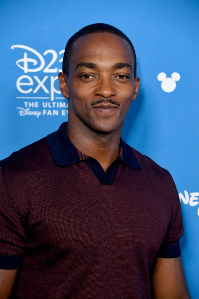 Anthony Mackie attends D23 Disney + event at Anaheim Convention Center | Photo: Getty Images