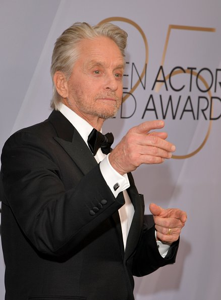 Michael Douglas attends the 25th Annual Screen ActorsGuild Awards at The Shrine Auditorium on January 27, 2019 in Los Angeles, California | Photo: Getty Images