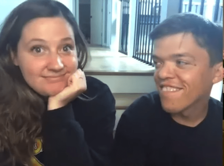 Screenshot of video from Tori Roloff and Zack Roloff's interview from October 15, 2020. Source: YouTube/ US Weekly