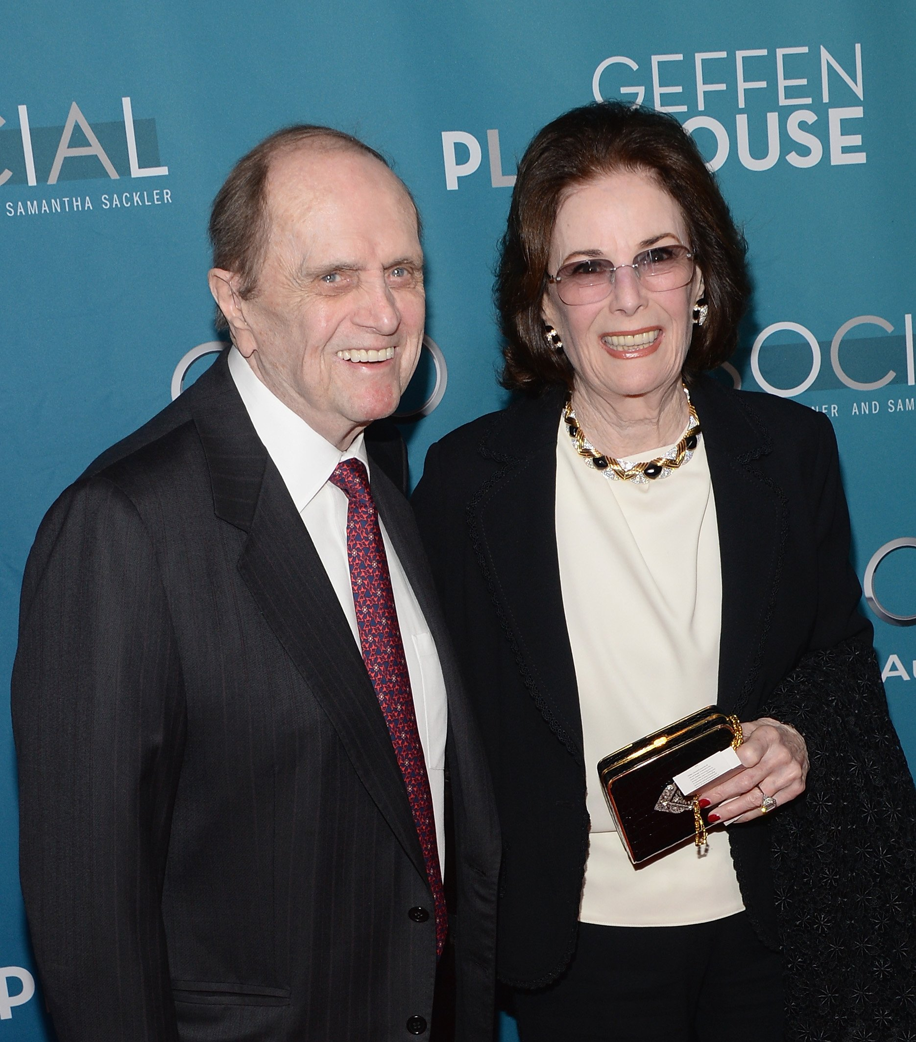 "Bob Newhart and Ginny Newhart at the ""Backstage At The Geffen"" Gala on March 22, 2014 