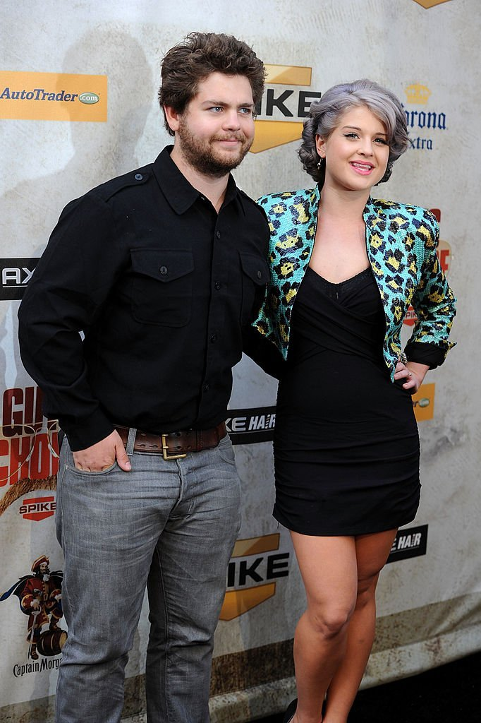 "Jack Osbourne and musician Kelly Osbourne arrive at Spike TV's 4th Annual ""Guys Choice Awards"" 