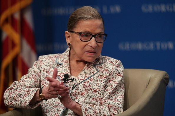 Supreme Court Justice Ruth Bader Ginsburg Attends Discussion At Georgetown Law | Photo: Getty Images