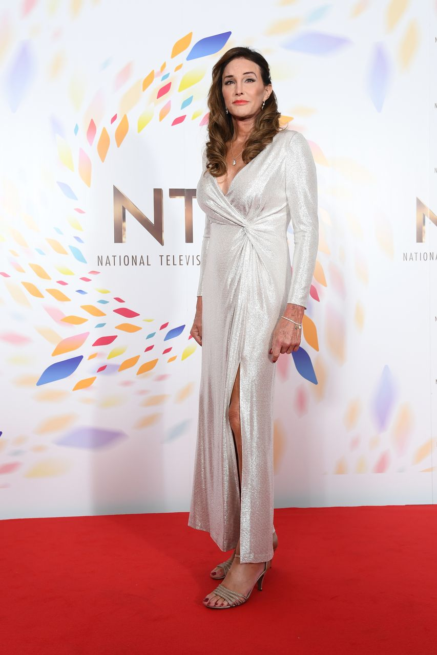 Caitlyn Jenner poses in the winners room attends the National Television Awards 2020 at The O2 Arena on January 28, 2020 | Photo: Getty Images