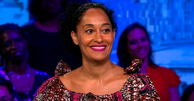 'Black-ish' Star Tracee Ellis Ross Delivers Chic Look Rocking a Brown Ensemble & Red Lipstick