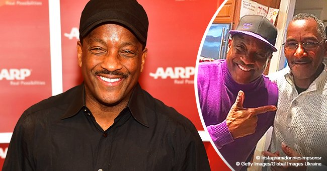 Remember Donnie Simpson? He shared tribute to his rarely-seen twin brother on their 65th birthday