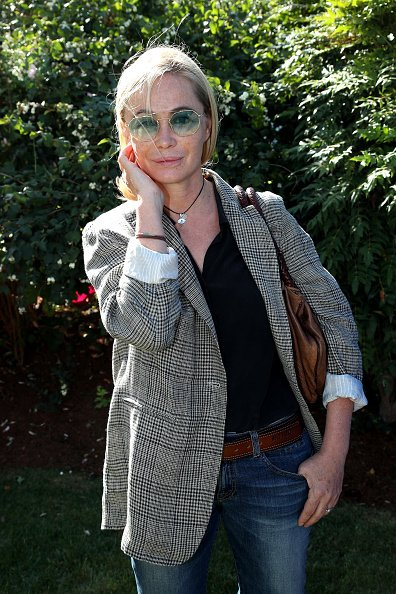 "Emmanuelle Beart assiste au lancement des ateliers du ""Jardin d'Acclimatation"".
