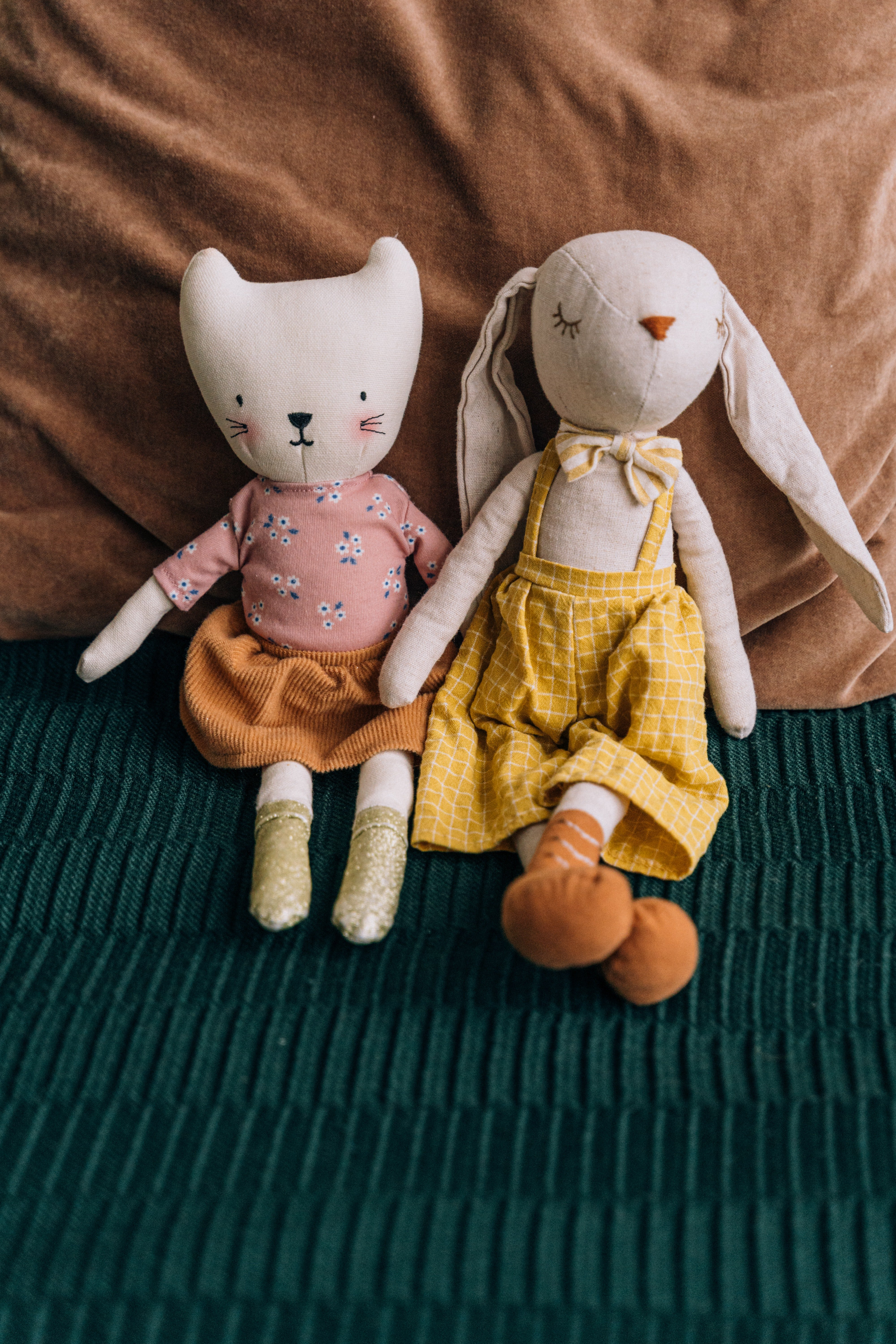 I used to own dolls like that, my favorite is a rabbit called Connie   Source: Pexels