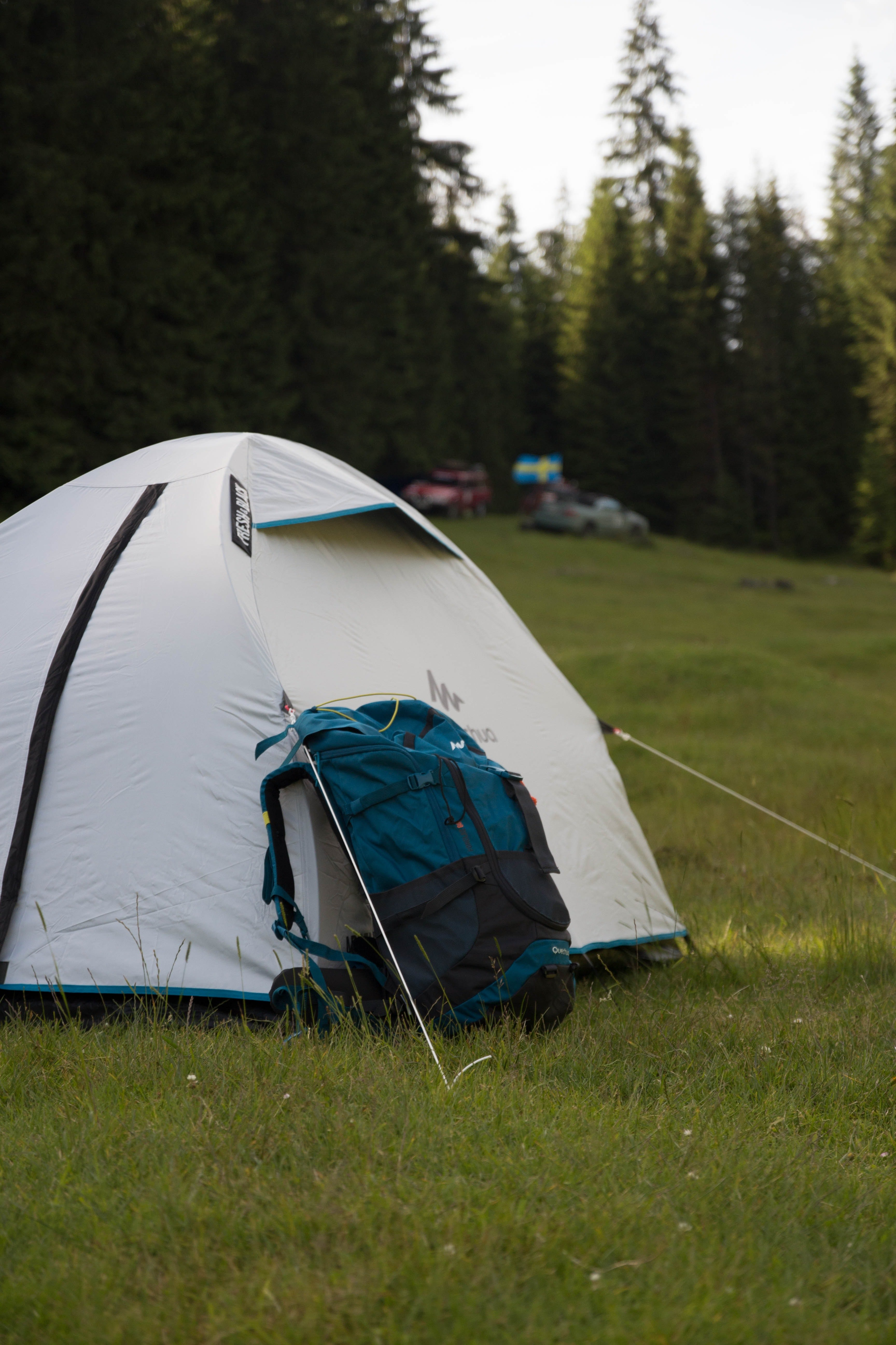 A picture of a campsite   Source: Pexels