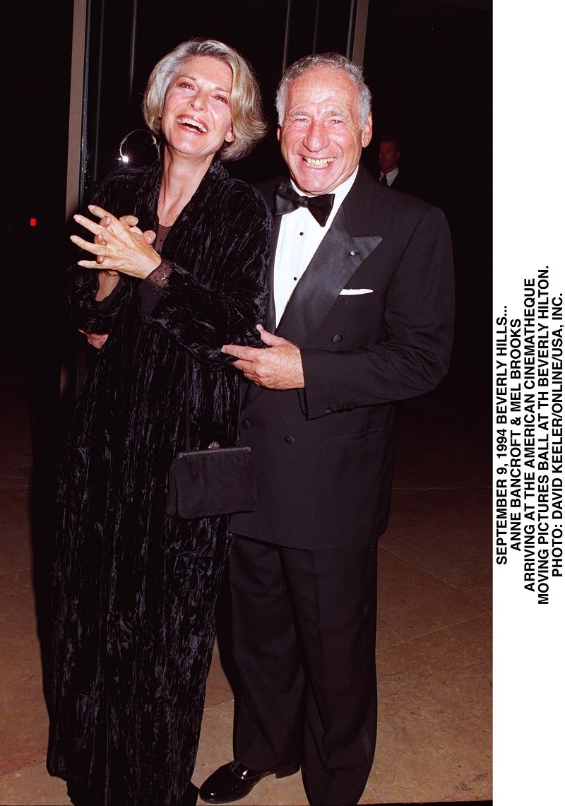 Mel Brooks and Anne Bancroft on September 9, 1994 in Beverly Hills, California   Photo: Getty Images