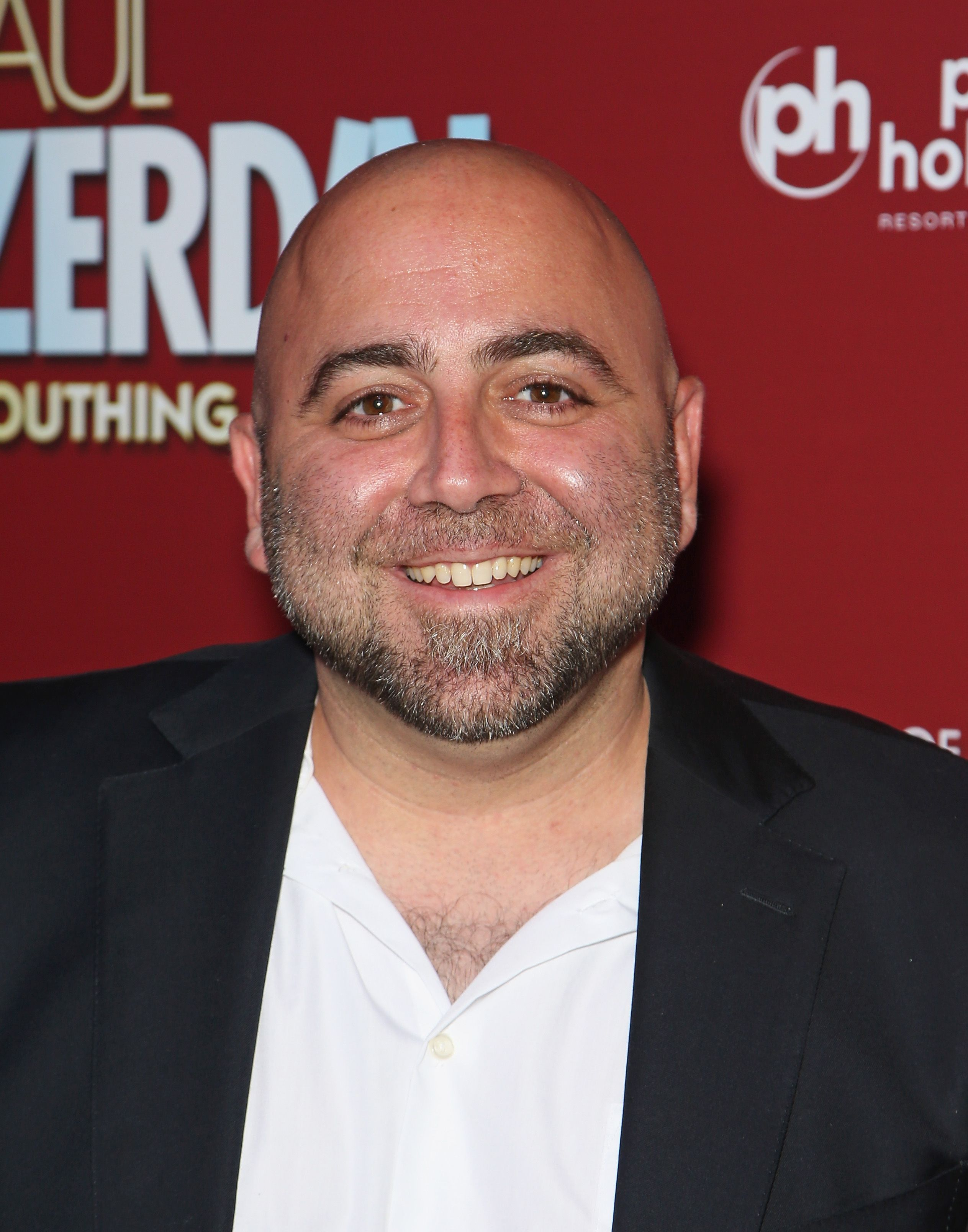 """Duff Goldman at the opening night of """"Paul Zerdin: Mouthing Off"""" in Las Vegas on May 13, 2016 
