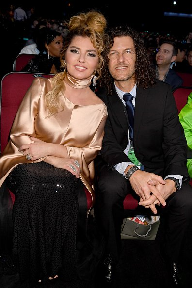 Shania Twain and Frédéric Thiébaud at Microsoft Theater on November 24, 2019 in Los Angeles, California. | Photo: Getty Images