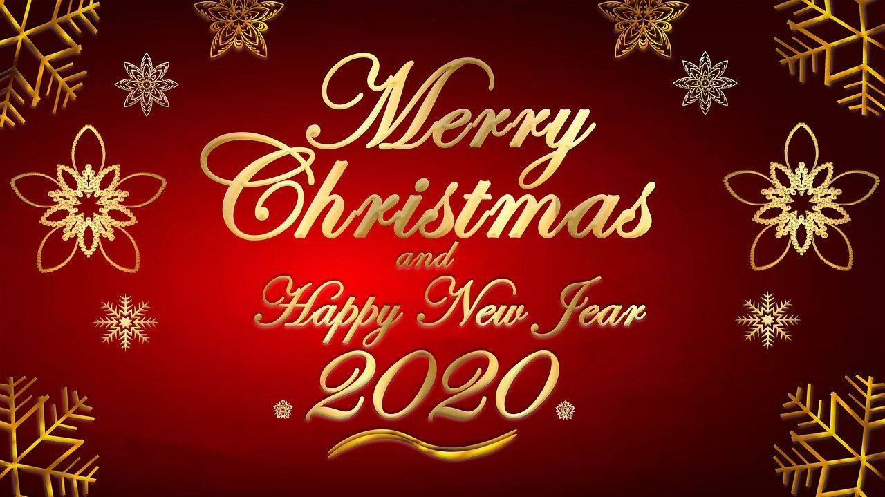 Merry Christmas and Happy New Year card | Photo: Pixabay.com