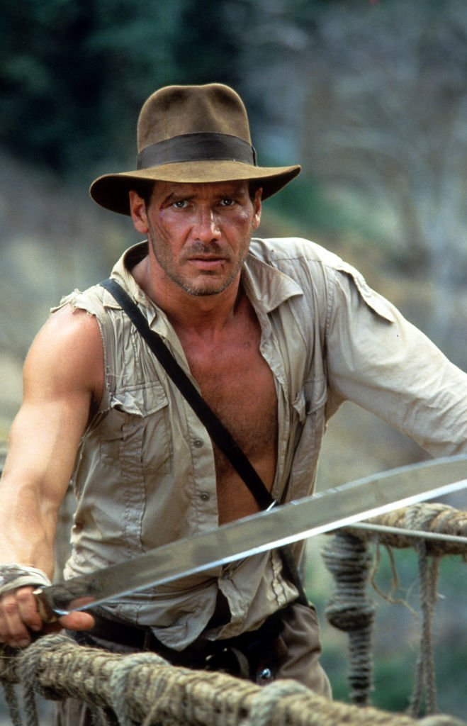 Harrison Ford in a scene from the film 'Indiana Jones And The Temple Of Doom', 1984 | Photo: Getty Images