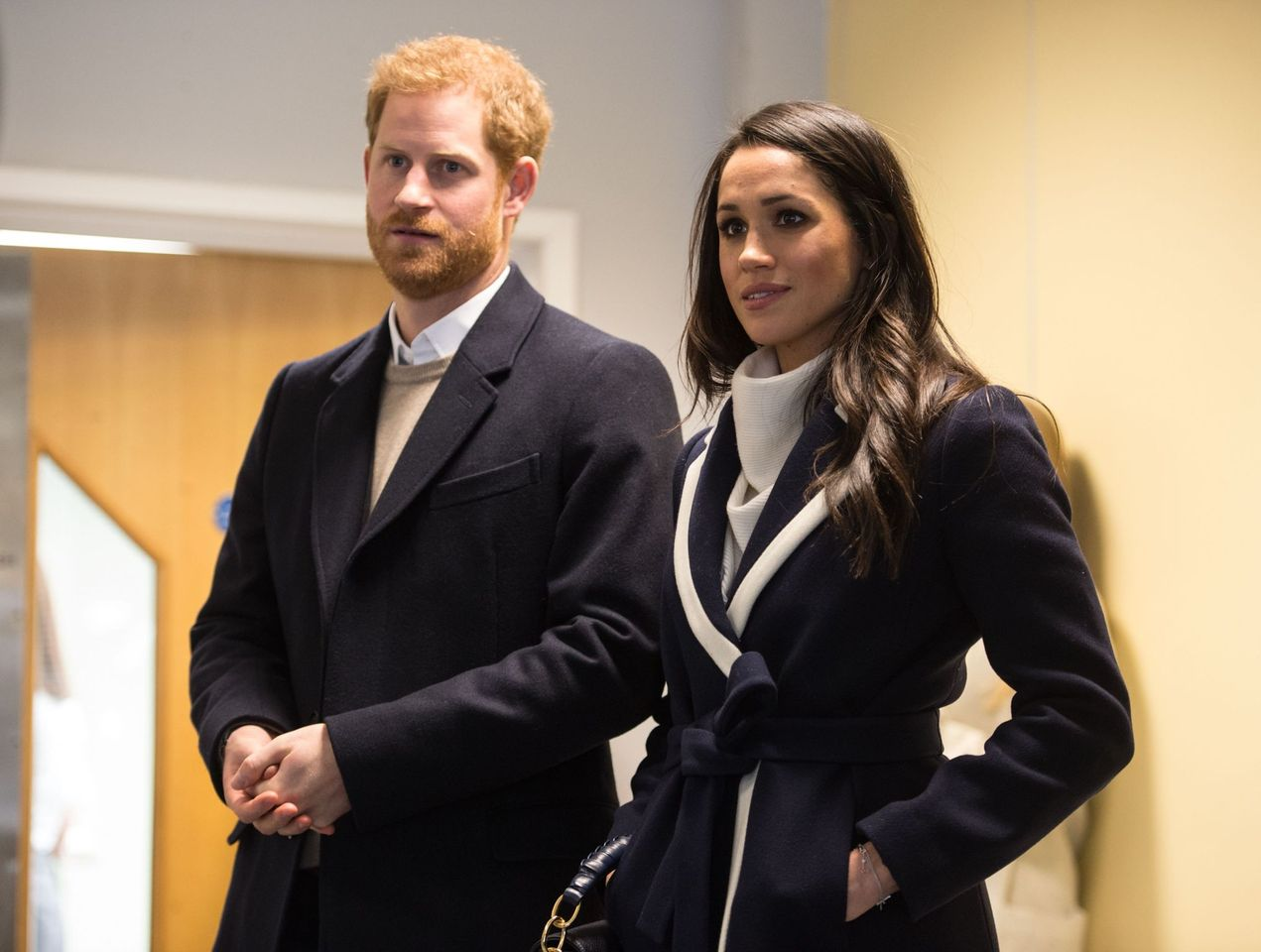 Britain's Prince Harry and his wife Meghan Markle visit Nechells Wellbeing Centre in Birmingham, central England on March 8, 2018.   Photo: Getty Images